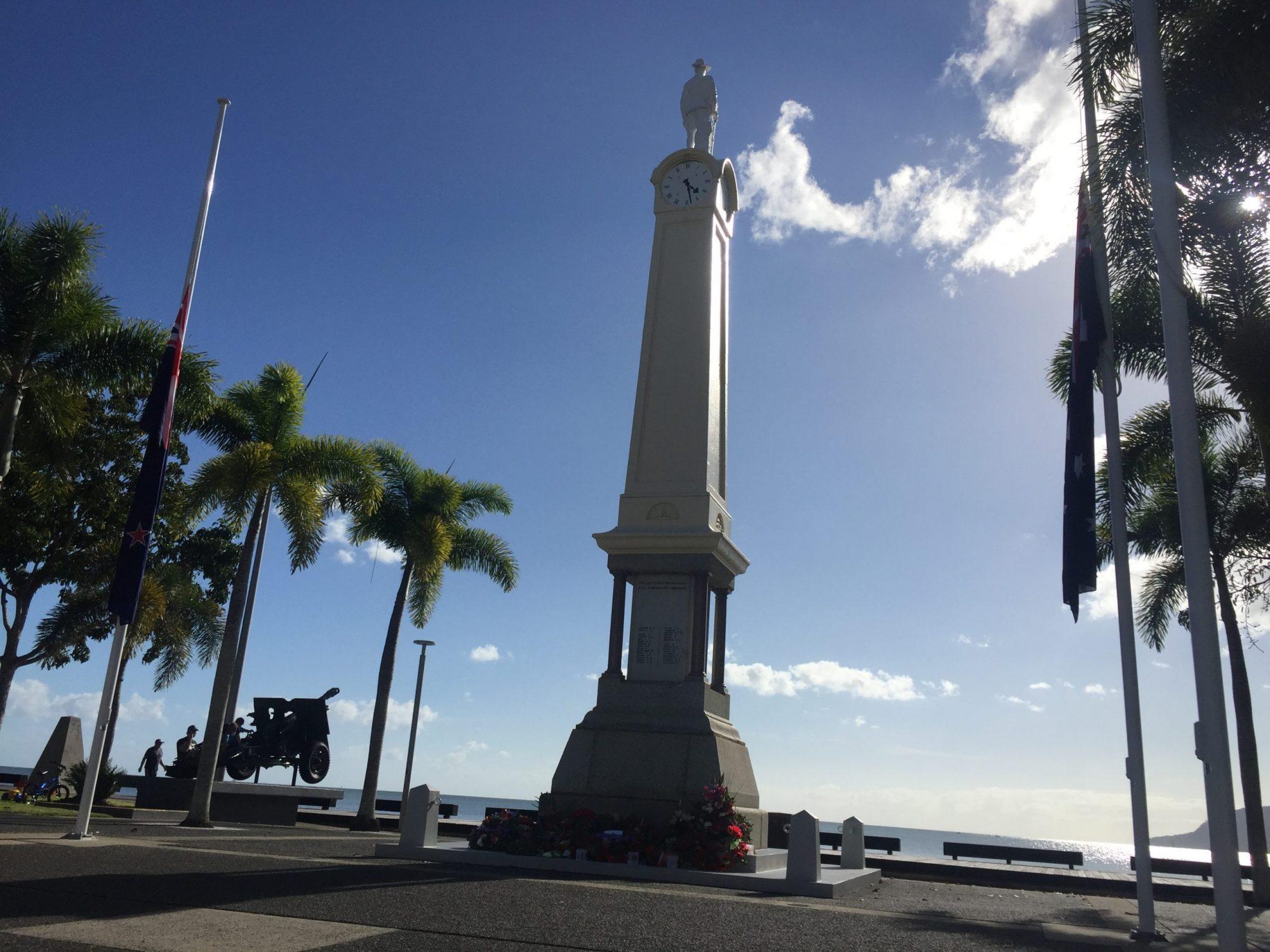 Cairns Cenotaph ANZAC Day 2020