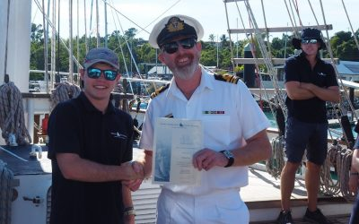 Youth Development STS Young Endeavour Scholarship Winner – William Davy